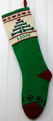 Christmas stocking for your dog