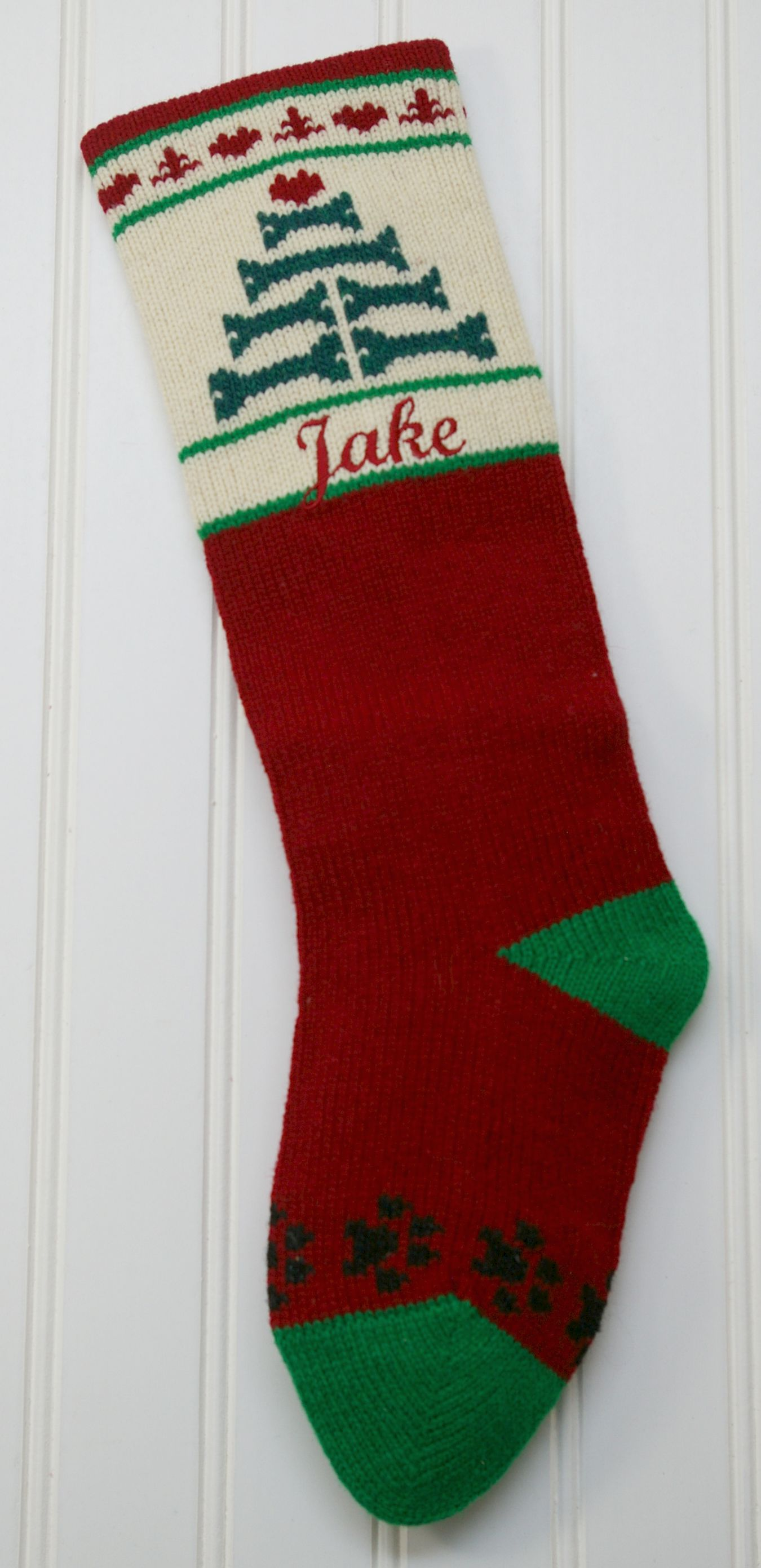 Personalized dog and cat Christmas Stockings