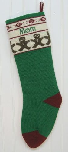 Traditional Style Christmas Stocking