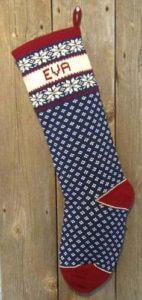 Snowflake Nordic Christmas Stockings
