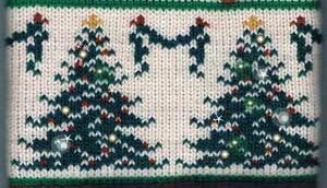 Glitter on Christmas Tree